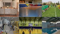 اختصاص بیش از ۳۲ هزار متر مربع فضای ورزشی در ستاد و مناطق عملیاتی زاگرس جنوبی