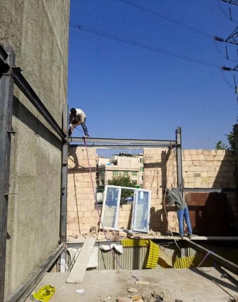 تداوم تخریب ساخت و سازهای غیر مجاز در منطقه 4 پایتخت