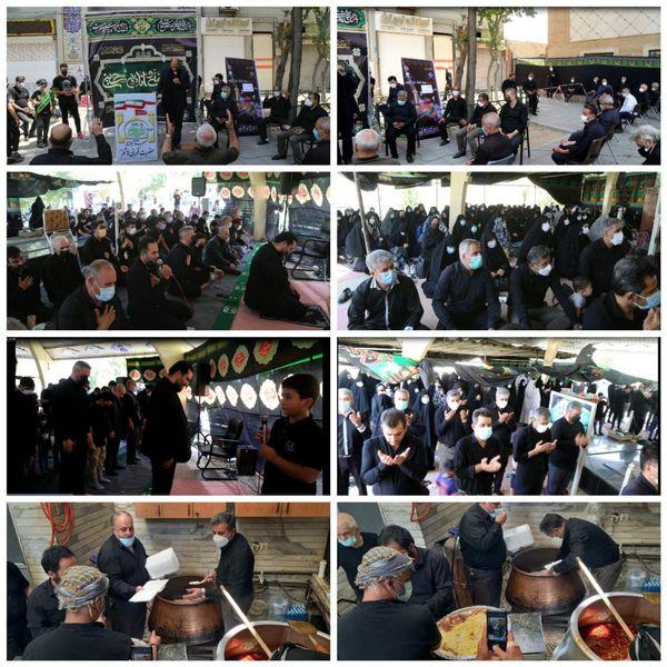 شهردار منطقه ۱۵ در میان عزاداران حسینی جنوب شرق پایتخت