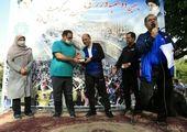 اجرای ویژه برنامه «تا همیشه غدیر»  در  محله های  منطقه 15