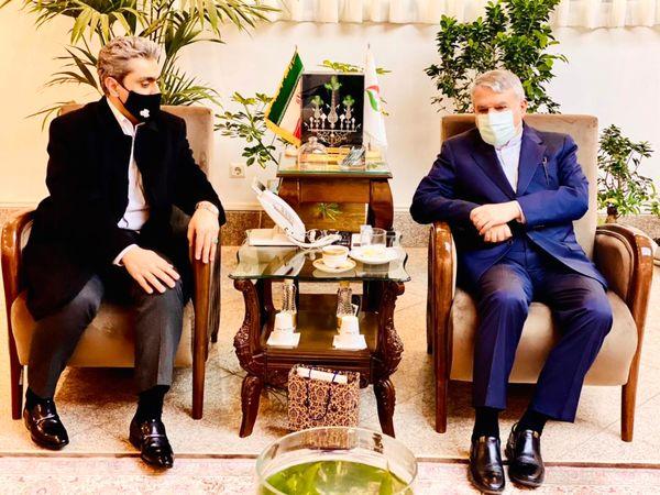 دیدار مدیرعامل باشگاه سایپا با رئیس کمیته ملی المپیک