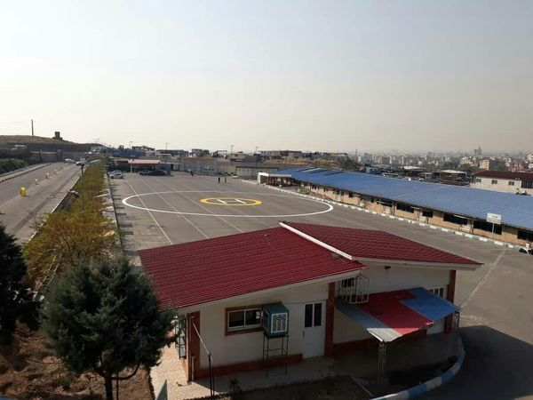 احداث اولین پد بالگرد در منطقه 13 با هدف آمادگی در مواقع بحرانی