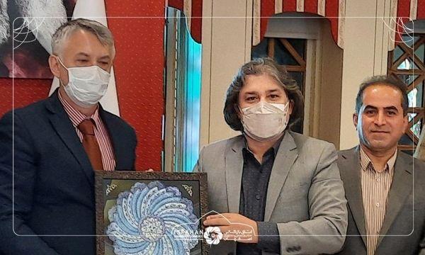حضور سفیر صربستان در اتاق بازرگانی اصفهان