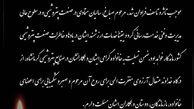 پیام تسلیت مدیرعامل شرکت پتروشیمی پارس به مناسبت درگذشتِ مهندس حسین صباغ