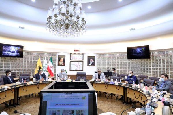 بازدید مدیرعامل صندوق کارآفرینی امید از شرکت بهره برداری متروی تهران و حومه