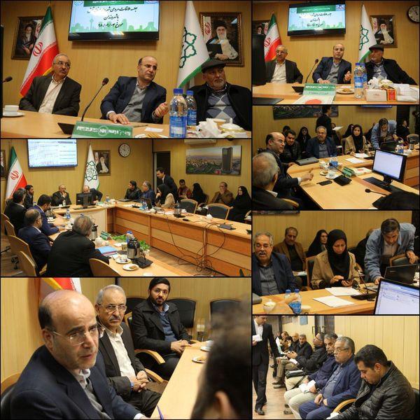 ملاقات مردمی شهردار منطقه شش با حضور عضو شورای اسلامی شهر تهران