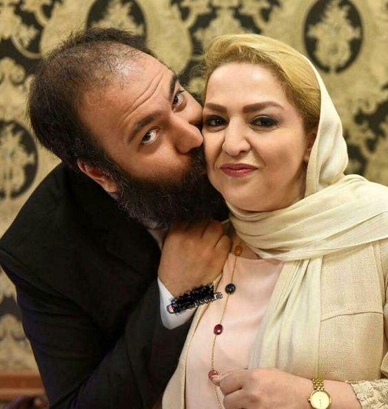 سنگ تمام «علی اوجی» برای تولد مادر زنش+عکس