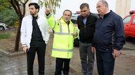 مدیریت بارندگی ها و آماده باش کامل نیروهای شهرداری منطقه ۱۳