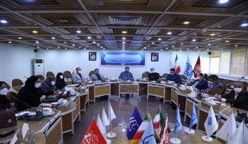دهمین نشست کمیته دولت الکترونیک و هوشمند سازی در سازمان استاندارد برگزار شد