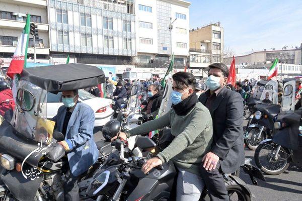 حضور شهردار منطقه یک در مراسم چهل و دومین سالگرد پیروزی انقلاب اسلامی