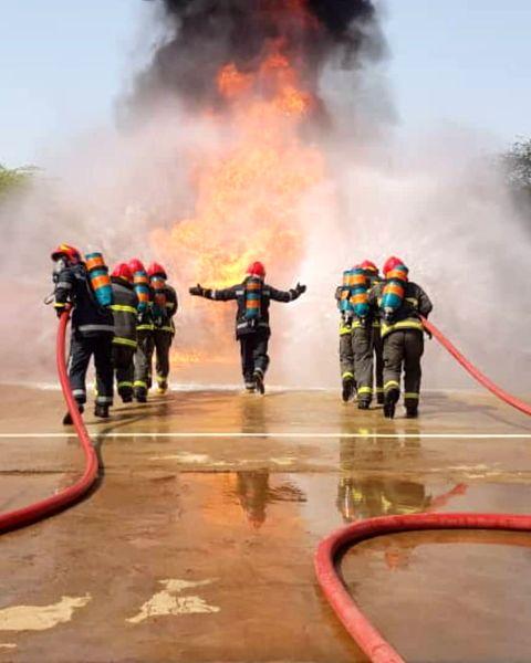 آزمون و ارزیابی علمی آنلاین آتشنشانان پتروشیمی کارون انجام شد 