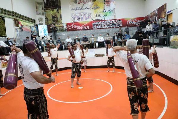 آئین نکوداشت فرهنگ پهلوانی و ورزش زورخانه ای در منطقه۱۳