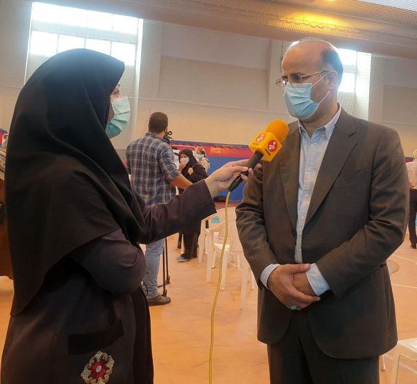 سومین مرکز واکسیناسیون کرونا در منطقه ۶ تهران افتتاح شد