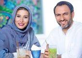 فریبا نادری و همسرش در حرم امام رضا+عکس