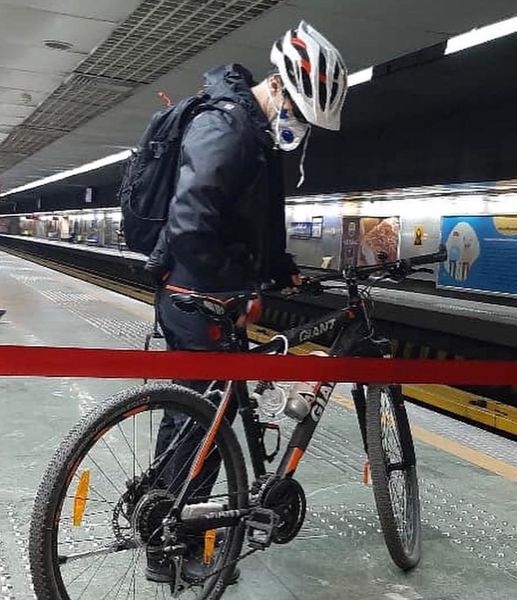 انجام بیش از دو هزار سفر ترکیبی دوچرخه و مترو در هفت ماه گذشته