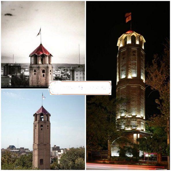 برج آتش نشانی در زمان قاجار +عکس