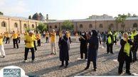 اولین پویش دوشنبه های ورزشی در تابستان ۱۴۰۰ به میزبانی منطقه 7