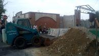 بیش از 10هزار تن خاک و نخاله تخلفی از منطقه چهار جمع آوری شد