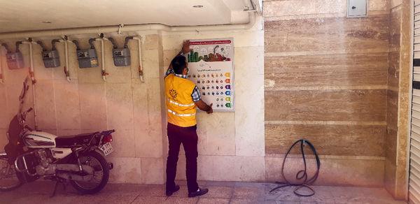 اجرای طرح مدیریت بحران در ساختمان های مسکونی منطقه9