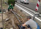 جمع آوری بیش از 10 تن خاک و نخاله تخلفی از منطقه 4 پایتخت