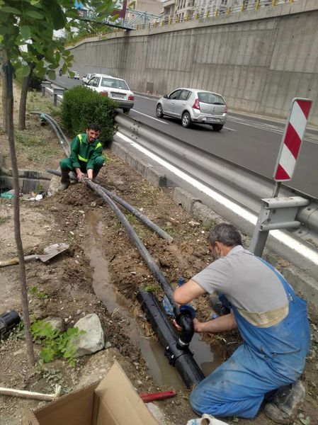 بهینه سازی شبکه آبرسانی فضای سبز در منطقه2 پایتخت