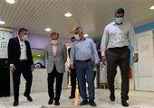 بازدید مدیران شهری منطقه۲۱ از احداث تقاطع زیر گذر فتح باغستان