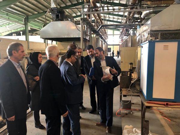 تلاش مدیران بانک ملی ایران برای بازگشت واحدهای صنعتی راکد به چرخه تولید