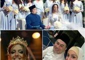 ملکه زیبایی روسیه از پادشاه مالزی بچهدار شد+ عکس