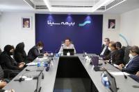 نخستین نشست شورای مدیران بیمه سینا در سال جدید برگزار شد