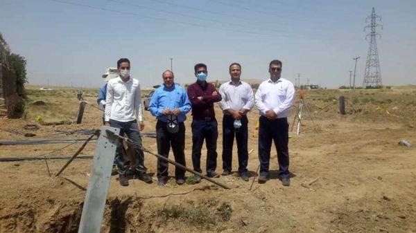 اتمام عملیات اجرایی احداث فوندانسیون خط ۲۳۰ کیلوولت سردار همدانی