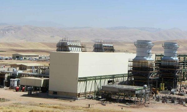 بخش گاز نیروگاه سیکل ترکیبی خرمآباد افتتاح شد