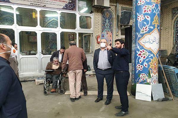 تلاش برای تکمیل پروژه مرمت و ایمن سازی مسجد ارک تا پیش از آغاز ماه مبارک رمضان