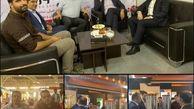 بازدید معاون حمل ونقل و ترافیک شهرداری منطقه۶از نمایشگاه حمل و نقل عمومی و خدمات شهری