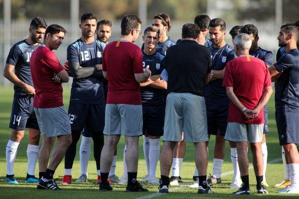حضور 16 بازیکن در اردوی تیم ملی فوتبال