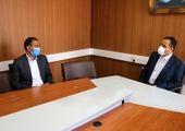 سرپرست مخابرات منطقه مرکزی با شهردار ساوه دیدار کرد
