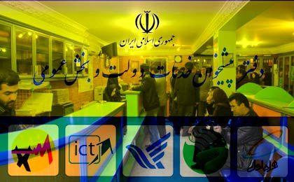 آدرس دفاتر پیشخوان دولت در تهران