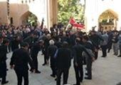 برگزاری مراسم عزاداری هیات محبان الزهرا(س) با حضور مدیران شهری منطقه9