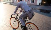 دوچرخه سواری رئیس جمهور +عکس