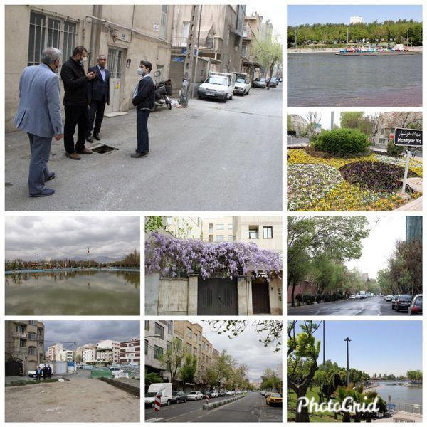بازدید سرپرست شهرداری منطقه۹ از محلات