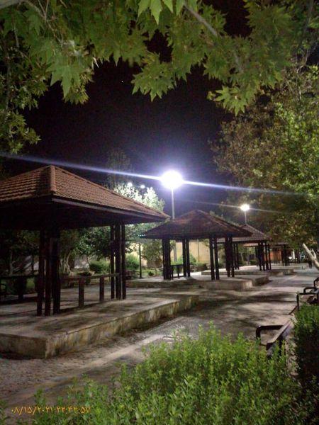 ارتقای روشنایی بوستان به منظور از بینبردن فضاهای بیدفاع شهری در قلب طهران