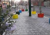 ساماندهی مخازن پسماند و اقدام زیرساختی در آبرسانی فضای سبز