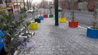 جانمایی گلجای های رنگی در دستور کار شهرداری منطقه۱۳
