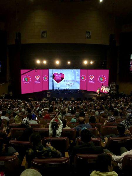 بیست و یکمین کنگره بین المللی قلب و عروق در برج میلاد افتتاح شد/بزرگان جراحی قلب به برج میلاد آمدند