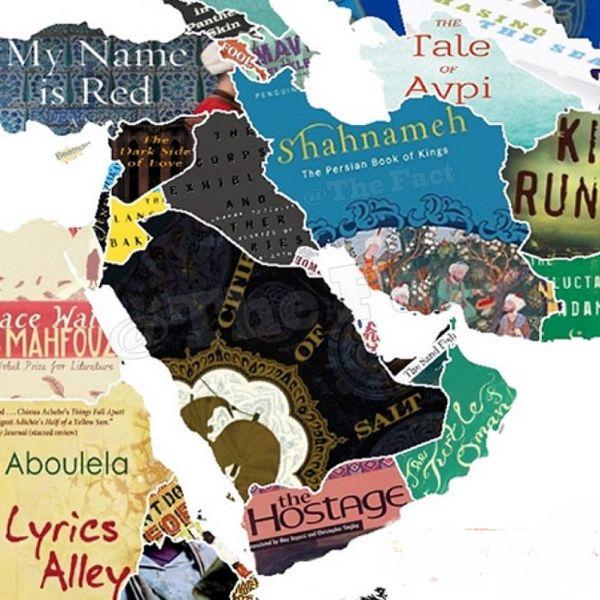 کدام کتاب در کشورها جزء محبوبترینها است؟+عکس