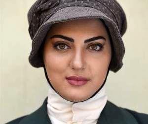 ظاهر عجیب و غریب خانم بازیگر در سرما+عکس
