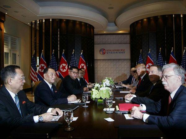 ترامپ و اون ناهار چه خوردند؟+عکس