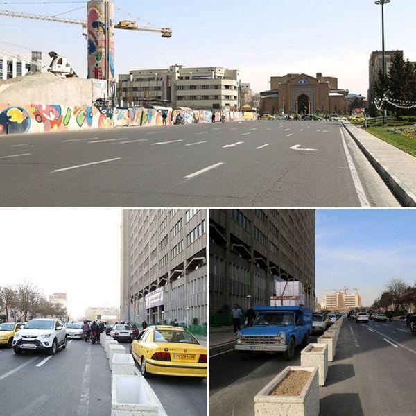 وضعیت مثبت ترافیکی در موضوع اصلاح هندسی میدان امام خمینی