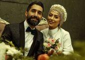 سمانه پاکدل و همسرش هادی کاظمی+عکس