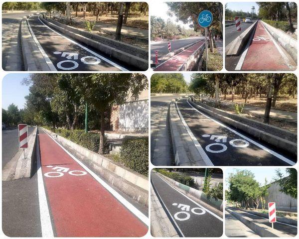 تحویل فاز یک مسیر دوچرخه سواری در منطقه 15