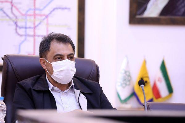 قدردانی از همکاری و همراهی پرسنل متروی تهران در ایام کرونا